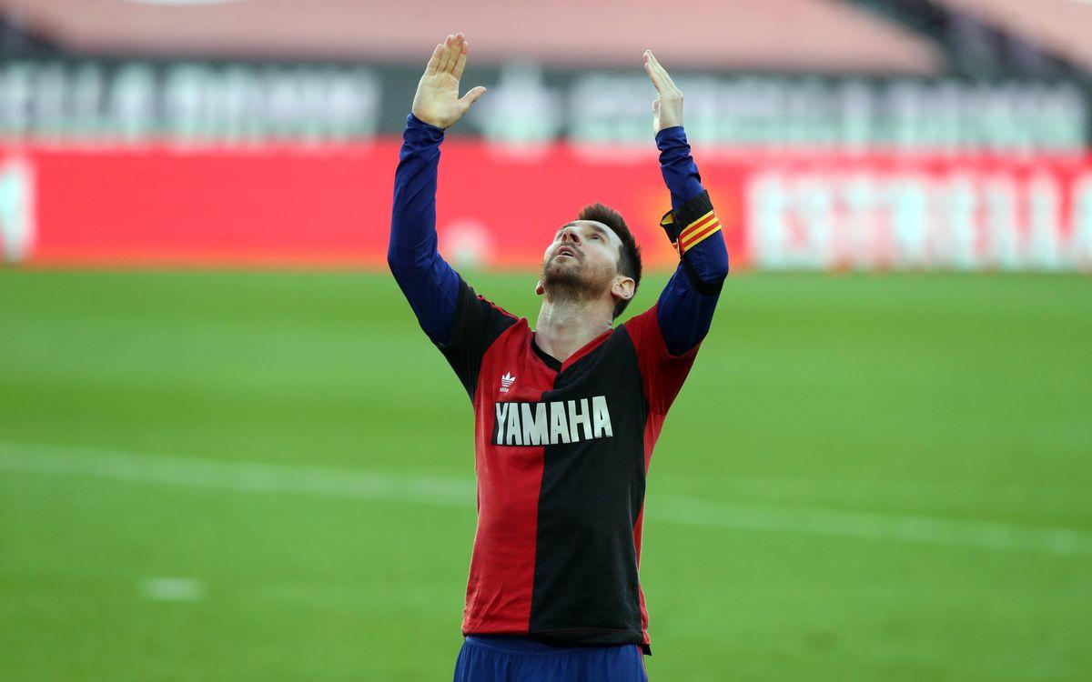 Leo Messi's most famous goal celebrations