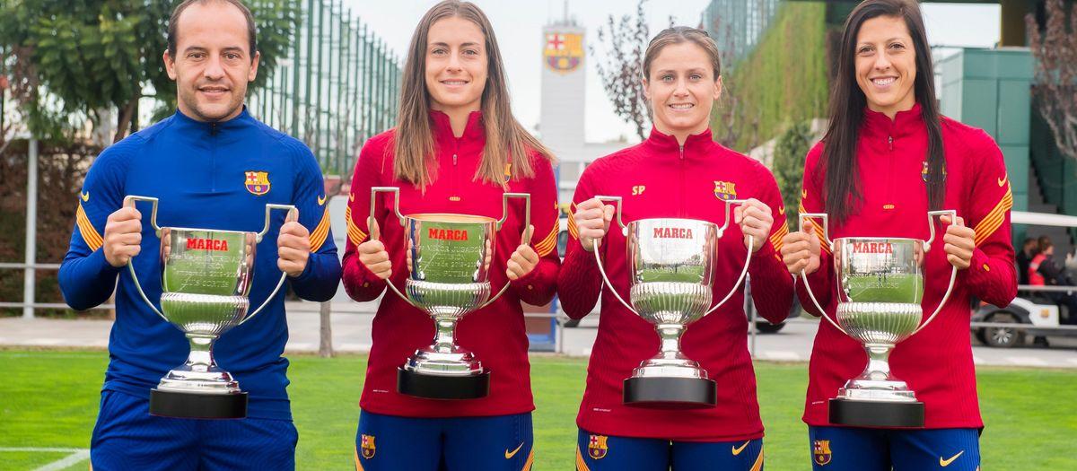 Pitxixi, Zamora, MVP i Millor Entrenador són del FC Barcelona Femení