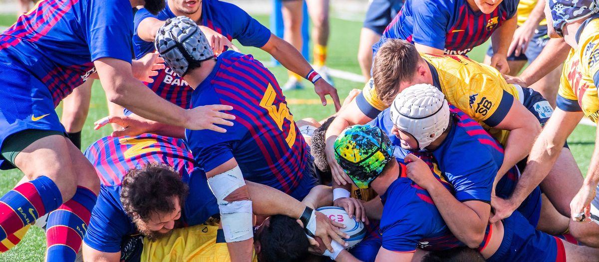 El Barça Rugby sigue su camino ascendente
