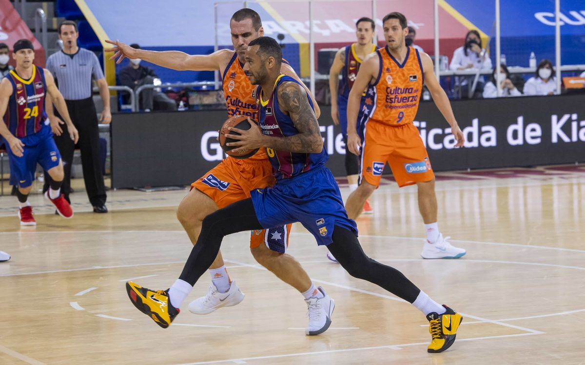Barça 90-100 Valencia Basket: Decided in the last quarter