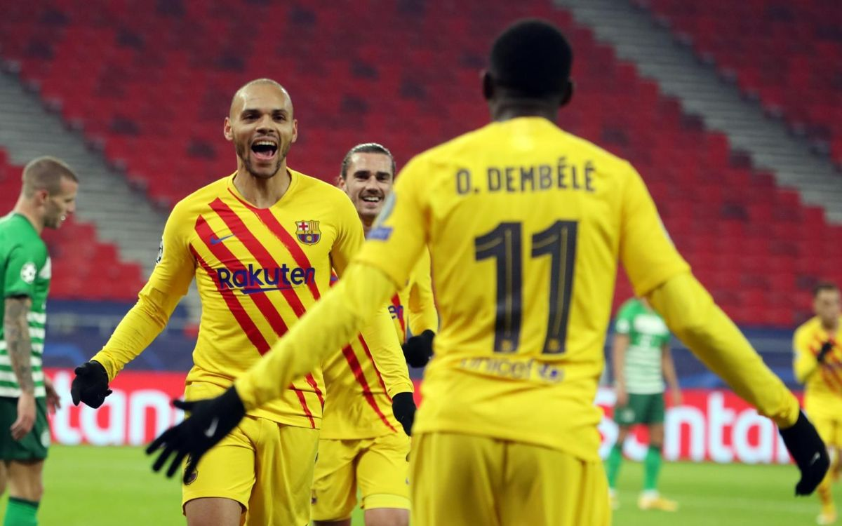 Ferencváros 0-3 FC Barcelona: 100 per cent record!