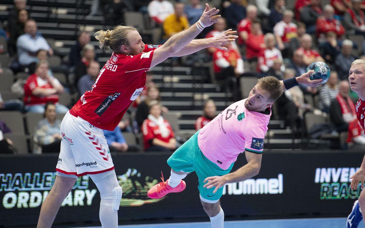Aalborg Haandbold-Barça: Saben sufrir para continuar invictos (32-35)