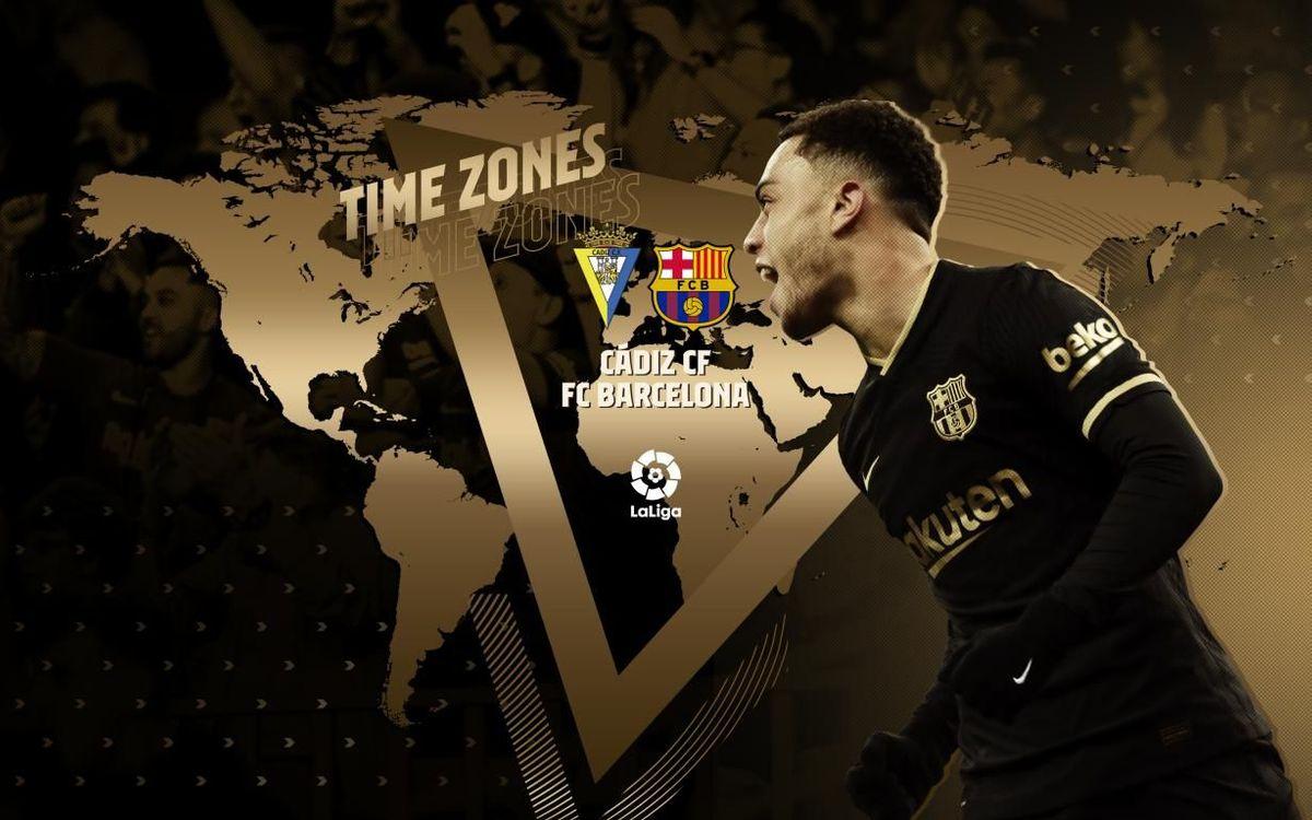 ¿Cuándo y dónde ver el Cádiz - Barça?