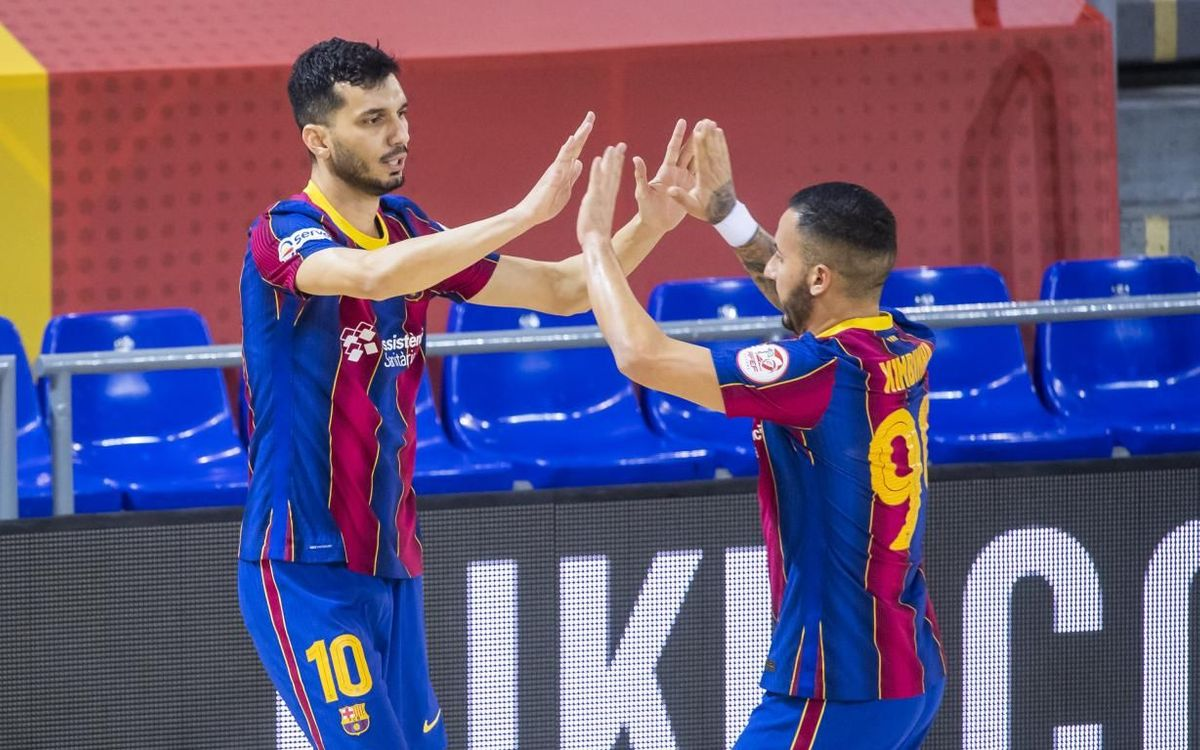 Barça 3-1 Jaén: Victory in the Palau