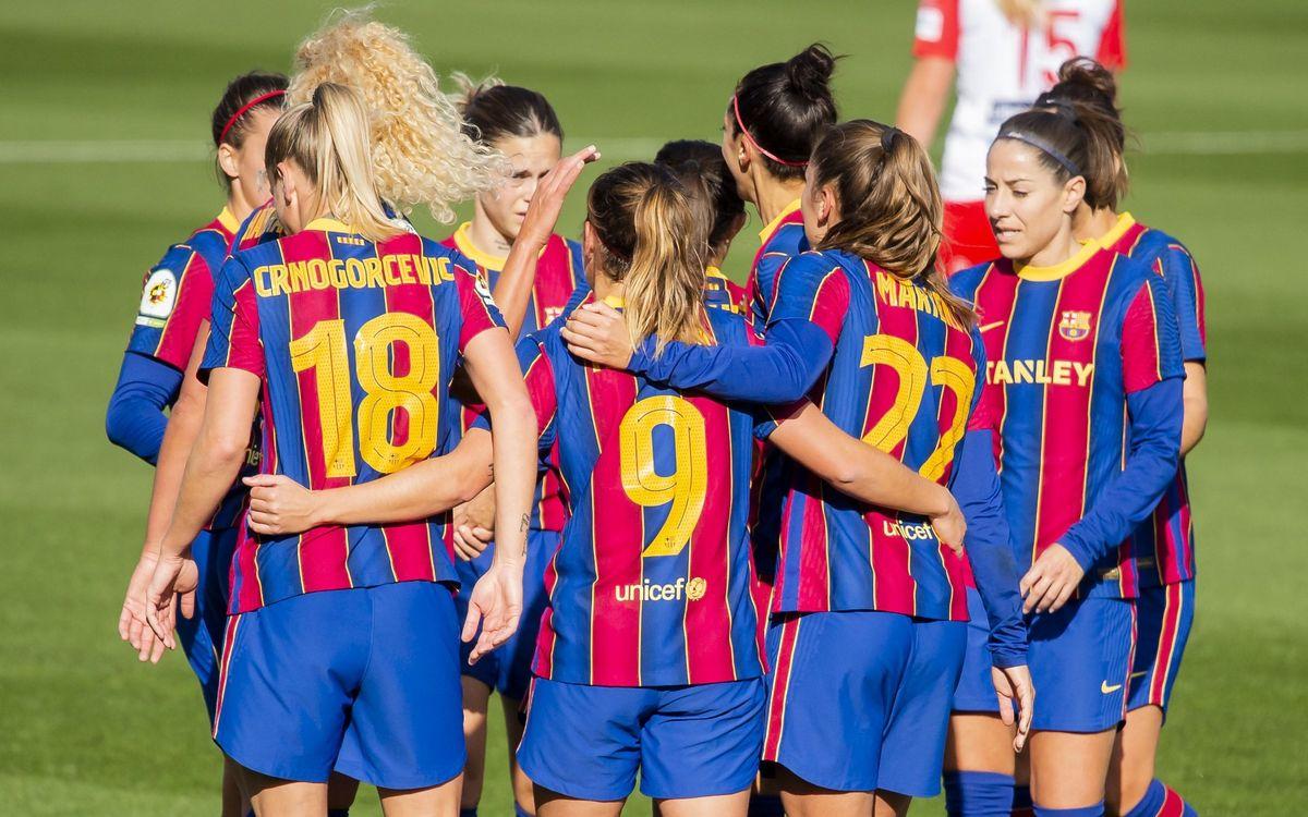 Barça Women 9-0 Santa Teresa: An avalanche of goals