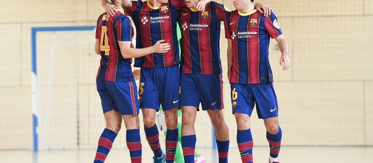 Barça B - ElPozo Ciudad de Murcia (5-3): Triunfo en el duelo de filiales