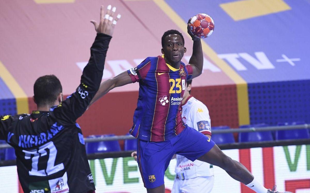 Barça 36-25 Abanca Ademar León: The winning streak continues
