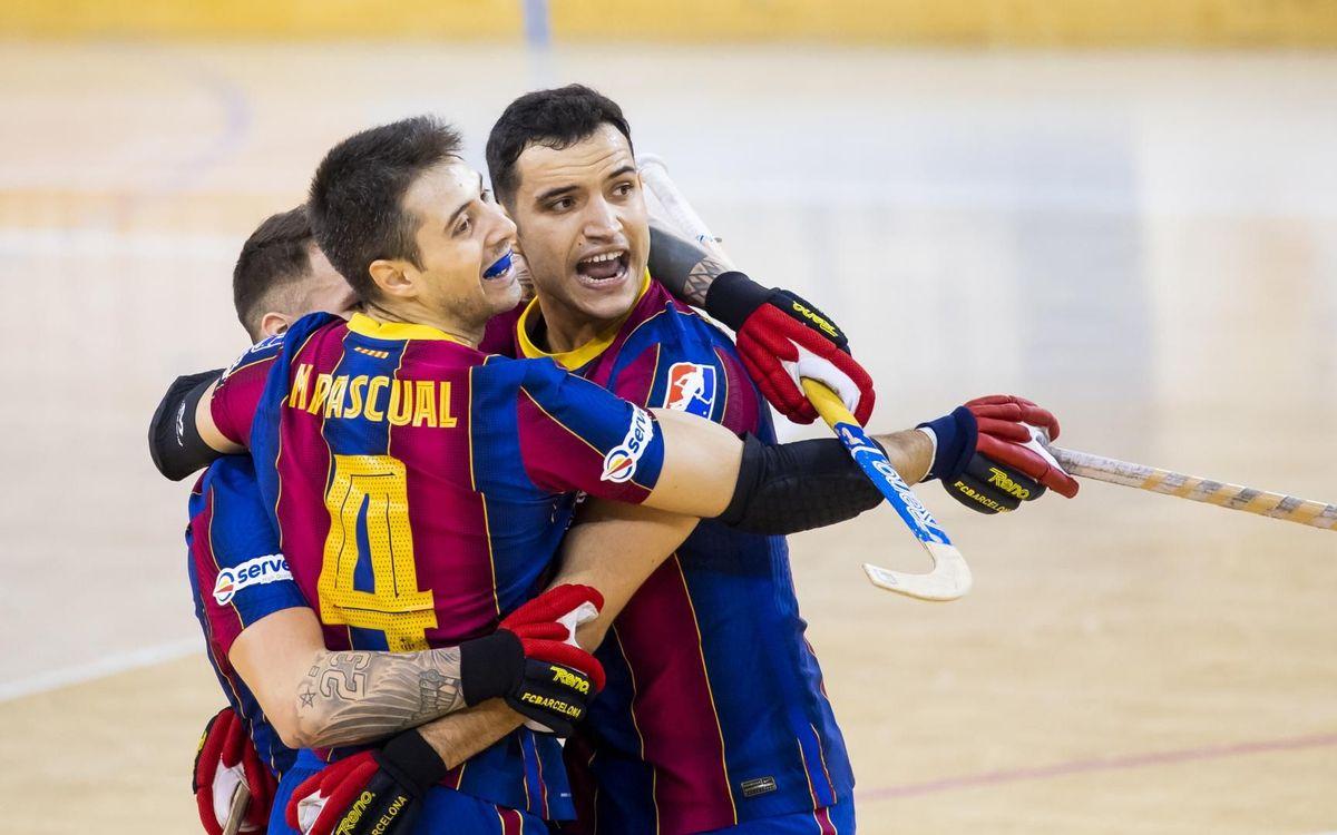Barça - Igualada: ¡Remontada para cerrar el año en el Palau! (5-3)