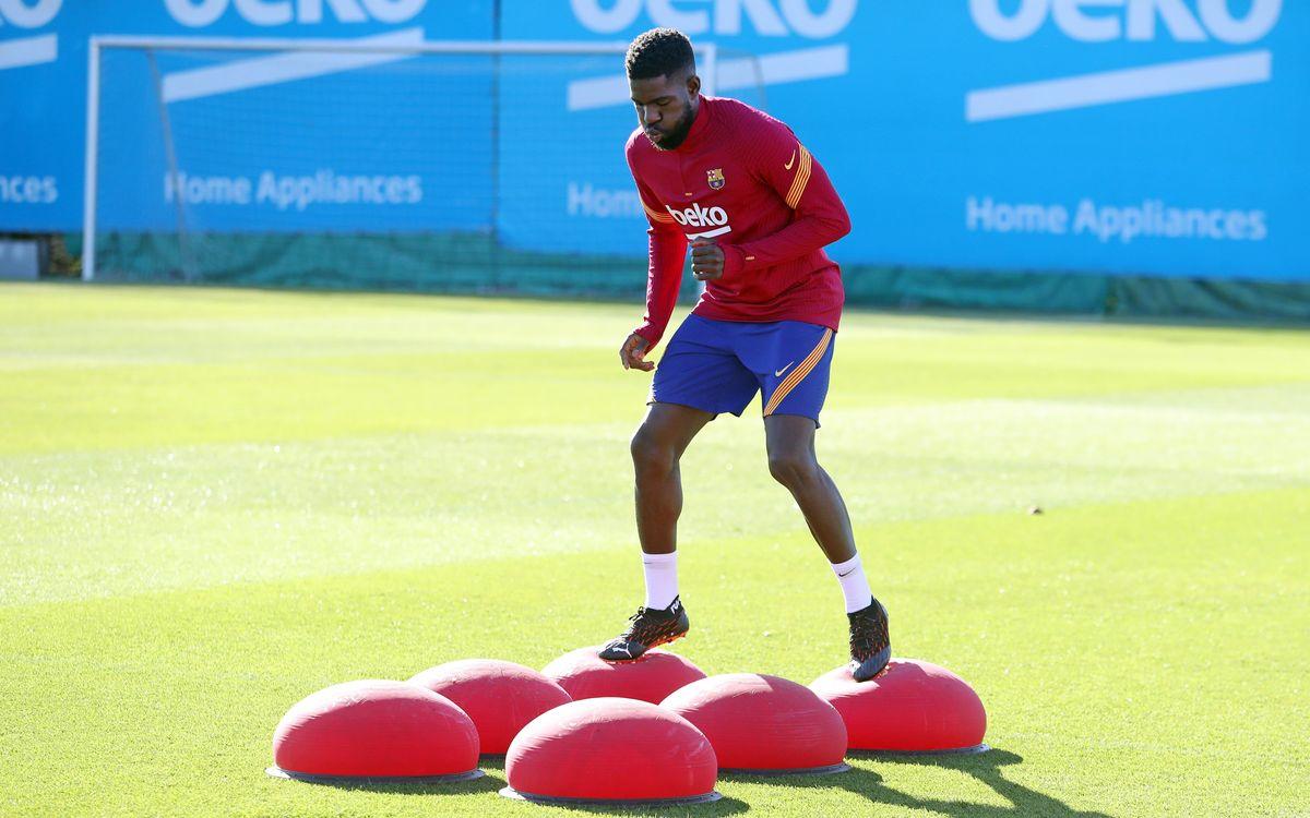 Umtiti, de retour dans le groupe pour Barça - Juventus