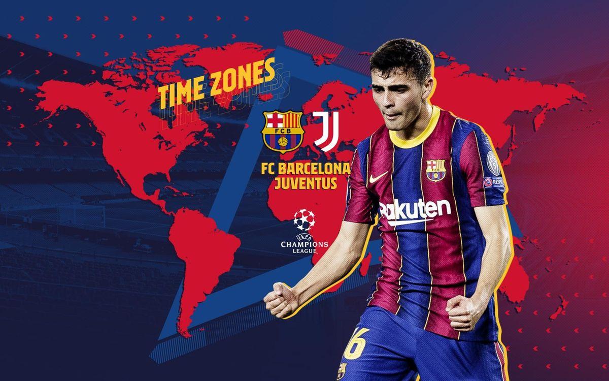 FC バルセロナ - ユベントス戦視聴ガイド