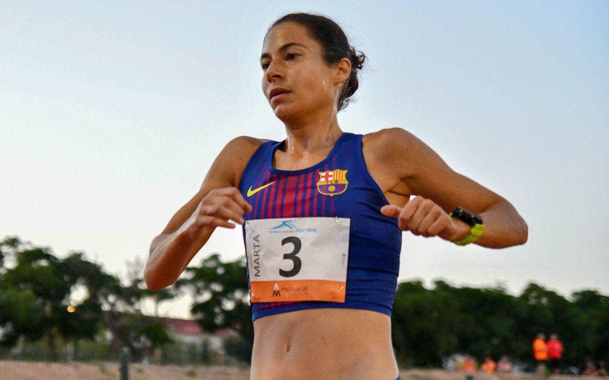 Marta Galimany establece un nuevo récord de Catalunya de maratón