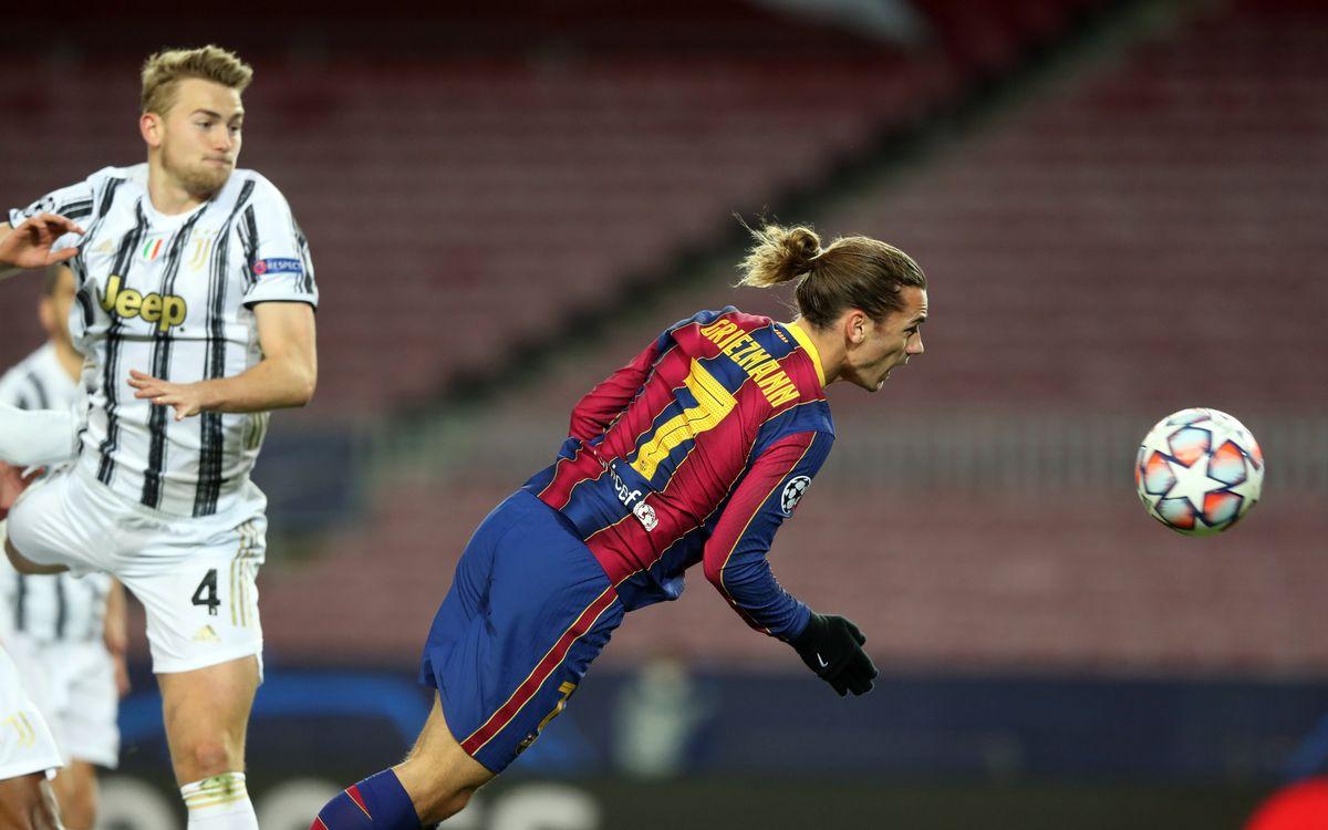 Barça - Juve :La 1ère place s'envole (0-3)