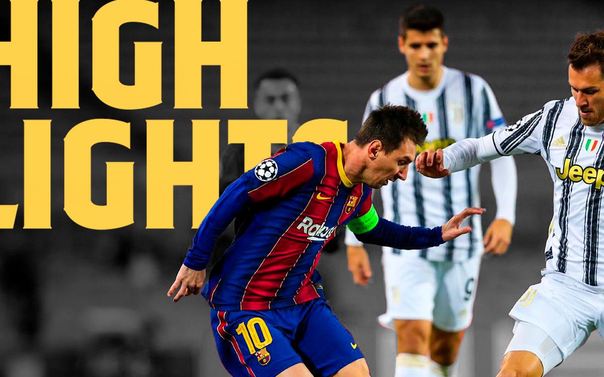 Le résumé de Barça - Juve, en vidéo