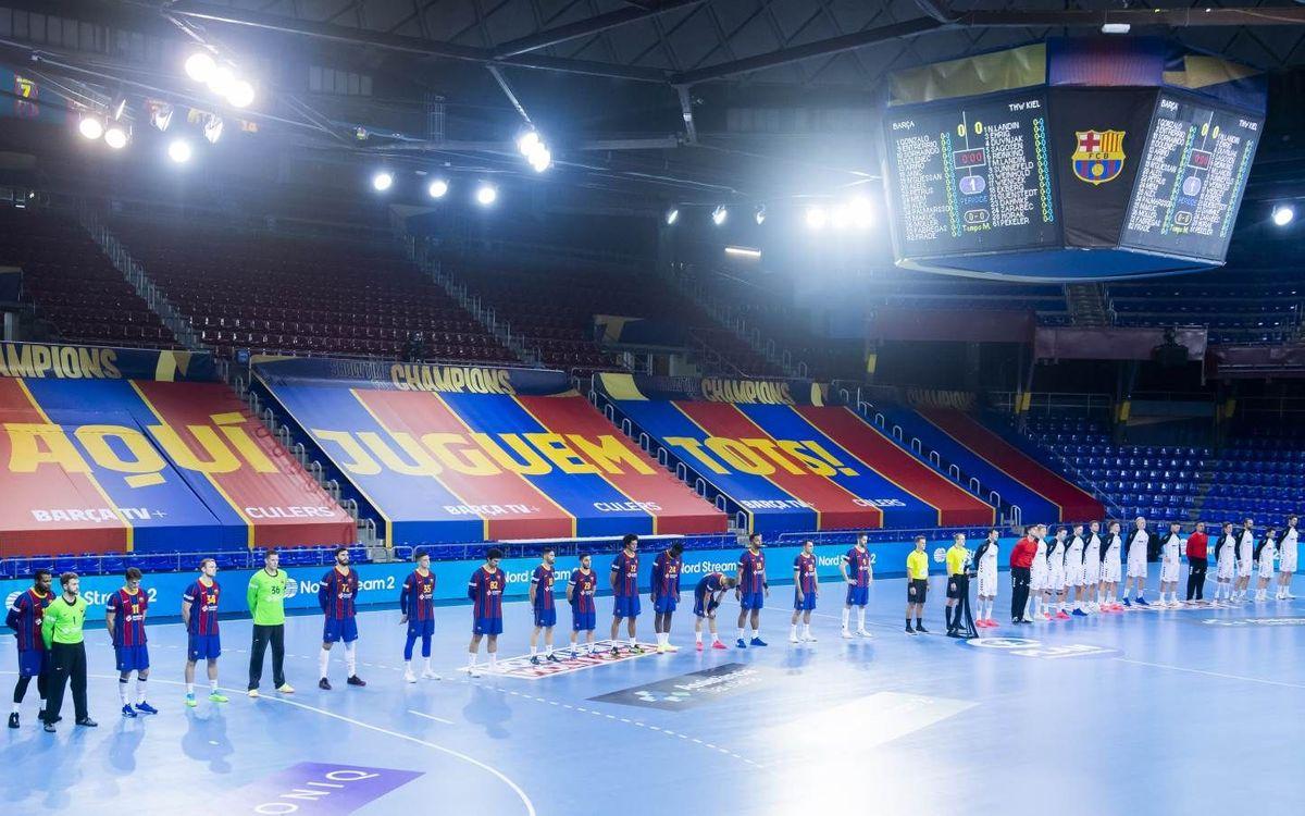 Aplazado el Barça - Veszprém