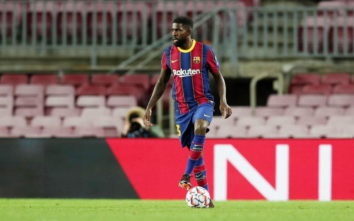Umtiti returns after 164 days out