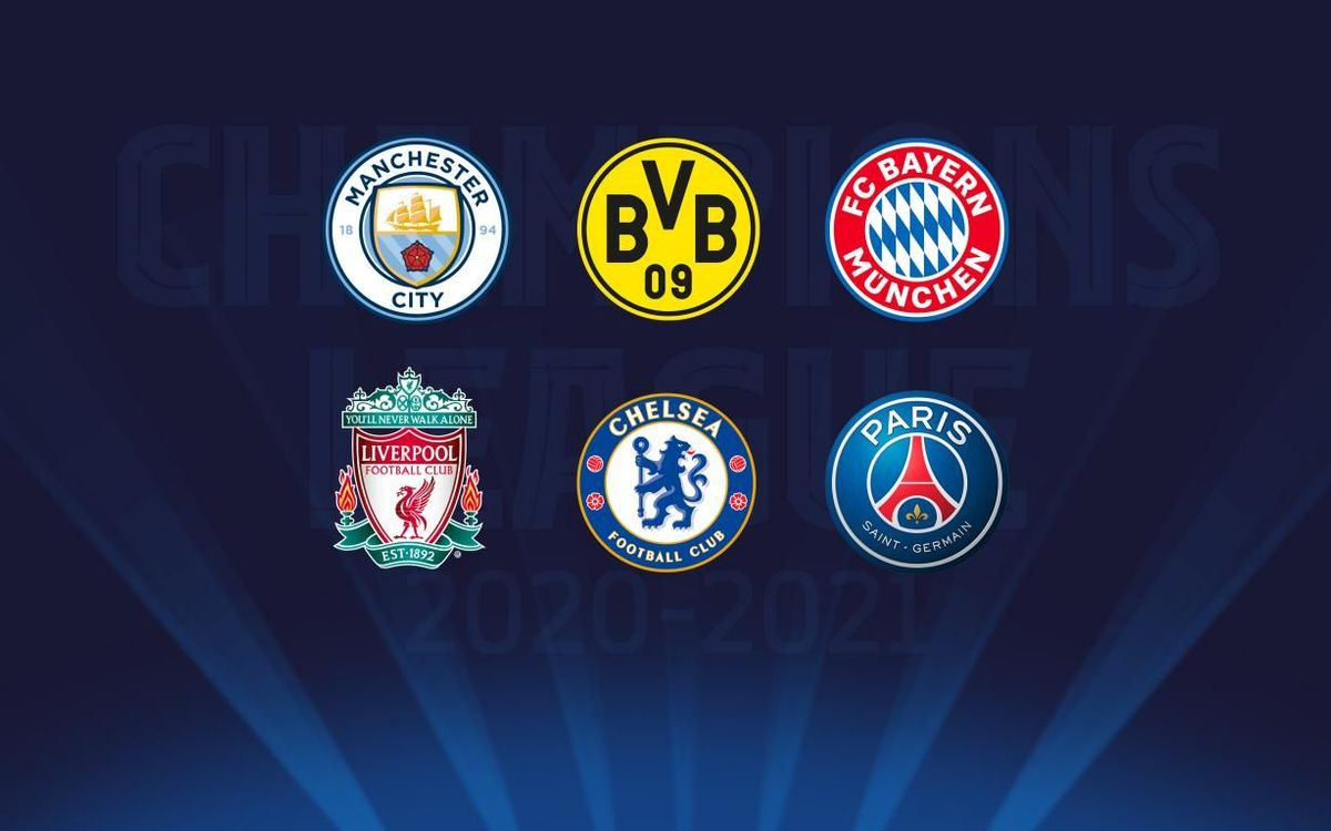 Possible opponents for FC Barcelona in the Champions League