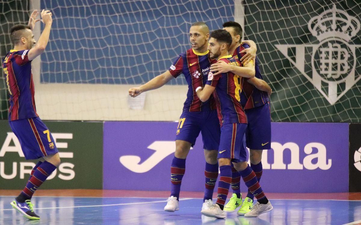 Betis 0-7 Barça: Still rising