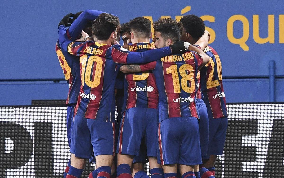 Barça B 2–1 Espanyol B: Victory in the derby!