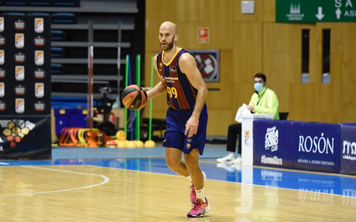 Monbus Obradoiro 75-78 FC Barcelona: Hard working victory in Santiago
