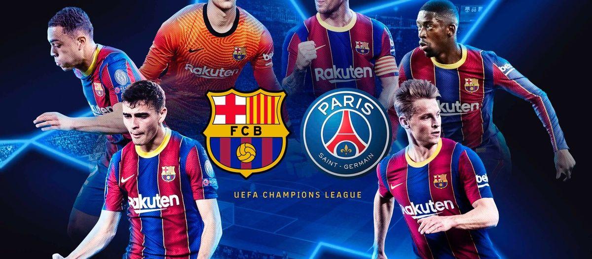 Le PSG, adversaire du Barça en 8èmes de finale de la Ligue des Champions
