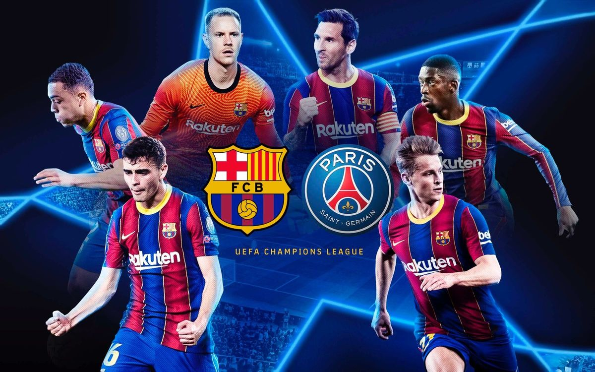 FC Barcelona to play Paris Saint Germain in Champions League last 16