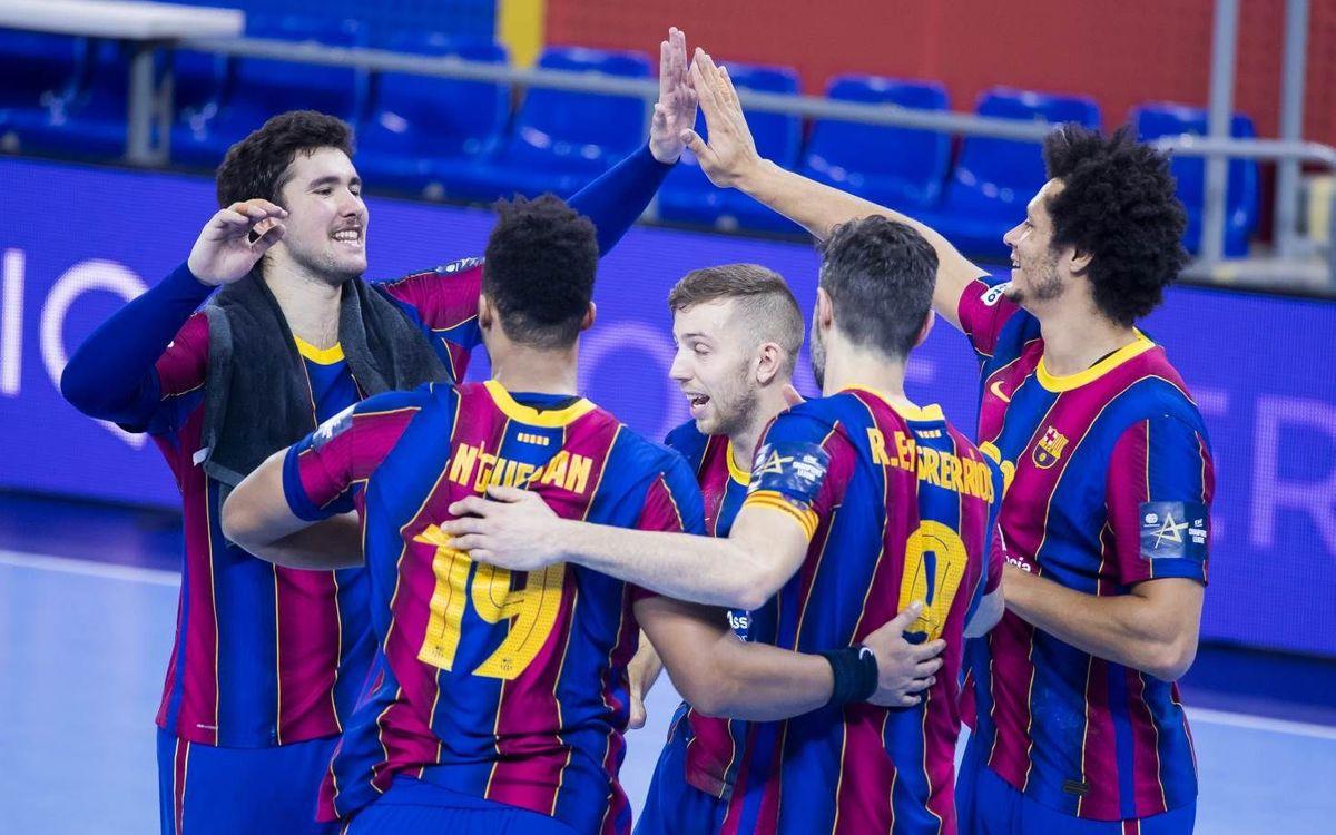 Barça – Bada Huesca: Último partido del año en el Palau