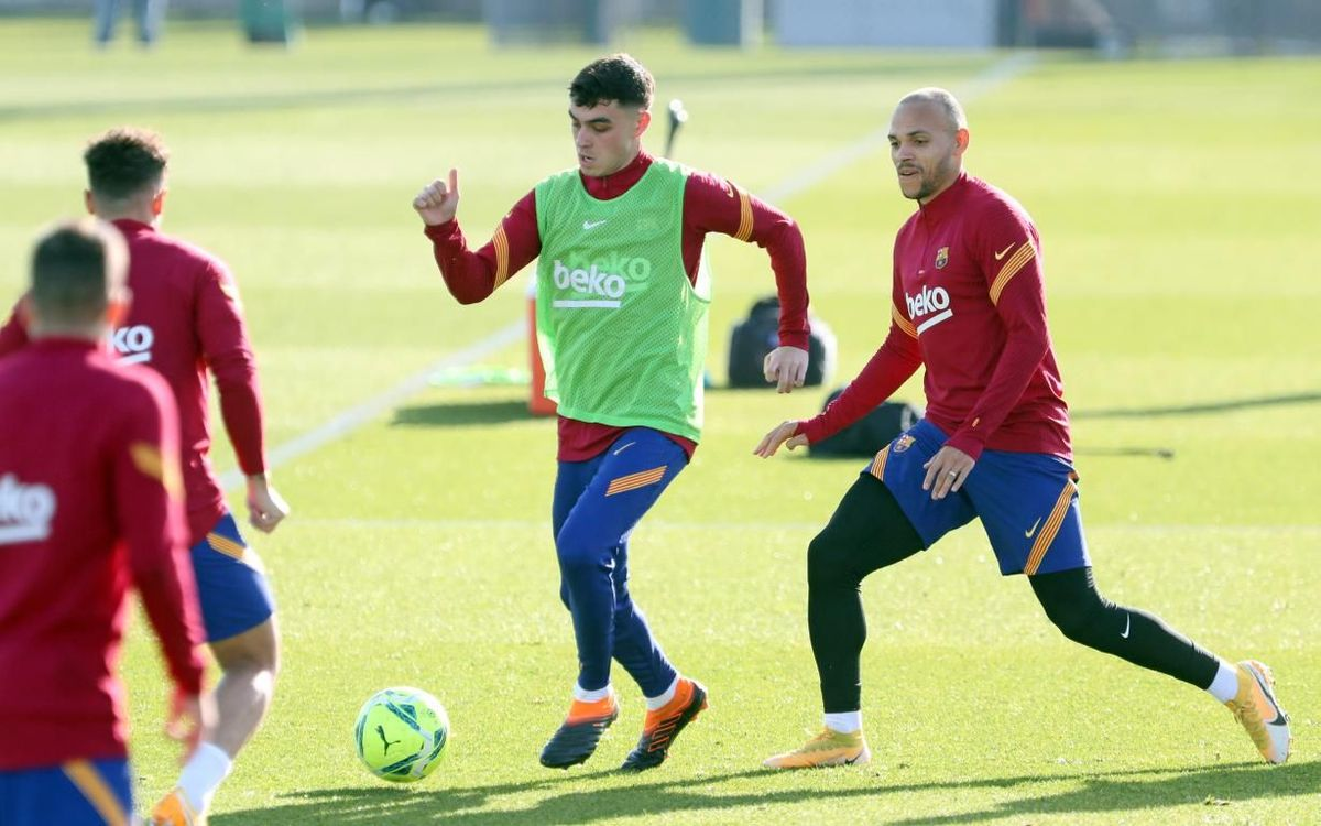 The FC Barcelona squad to face Valencia