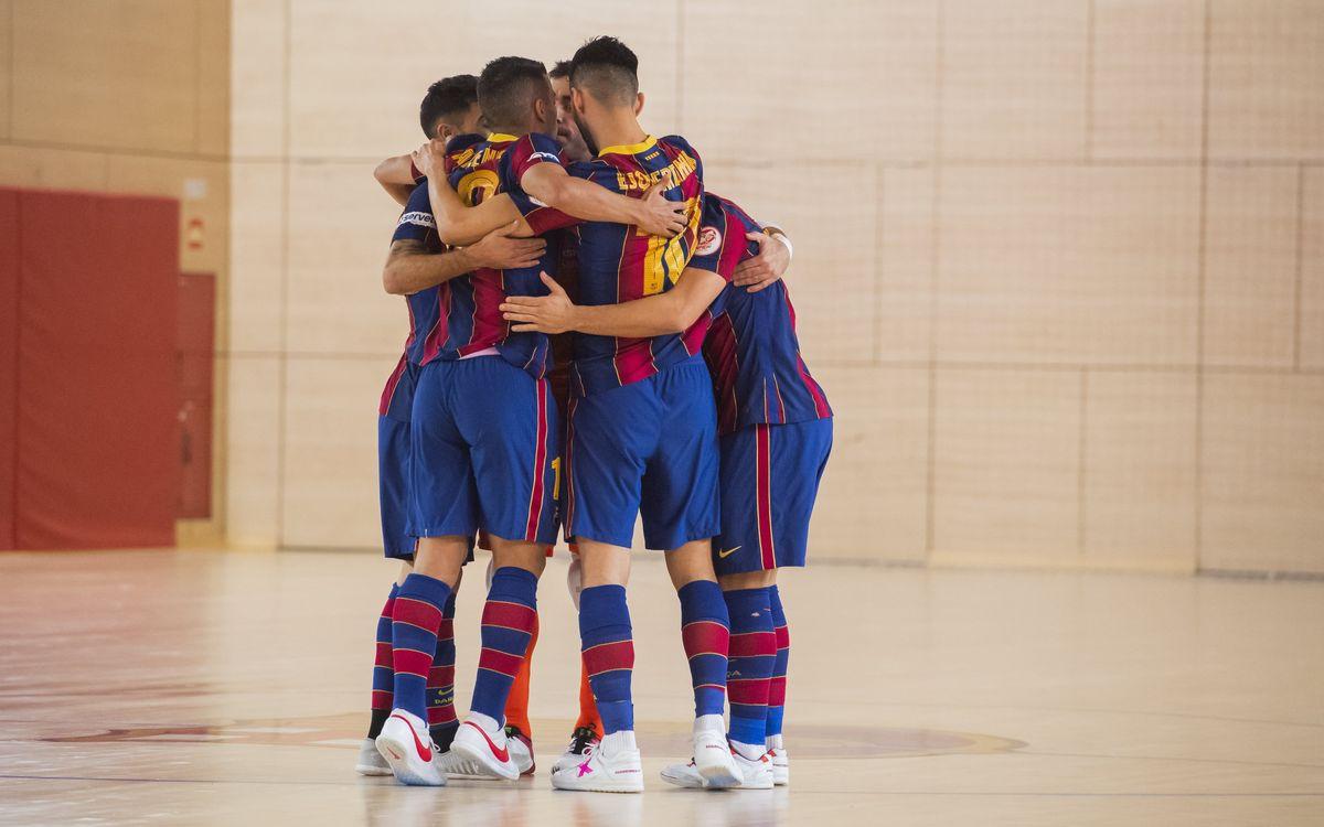 Barça 3-0 Burela: Into the Copa quarterfinals!