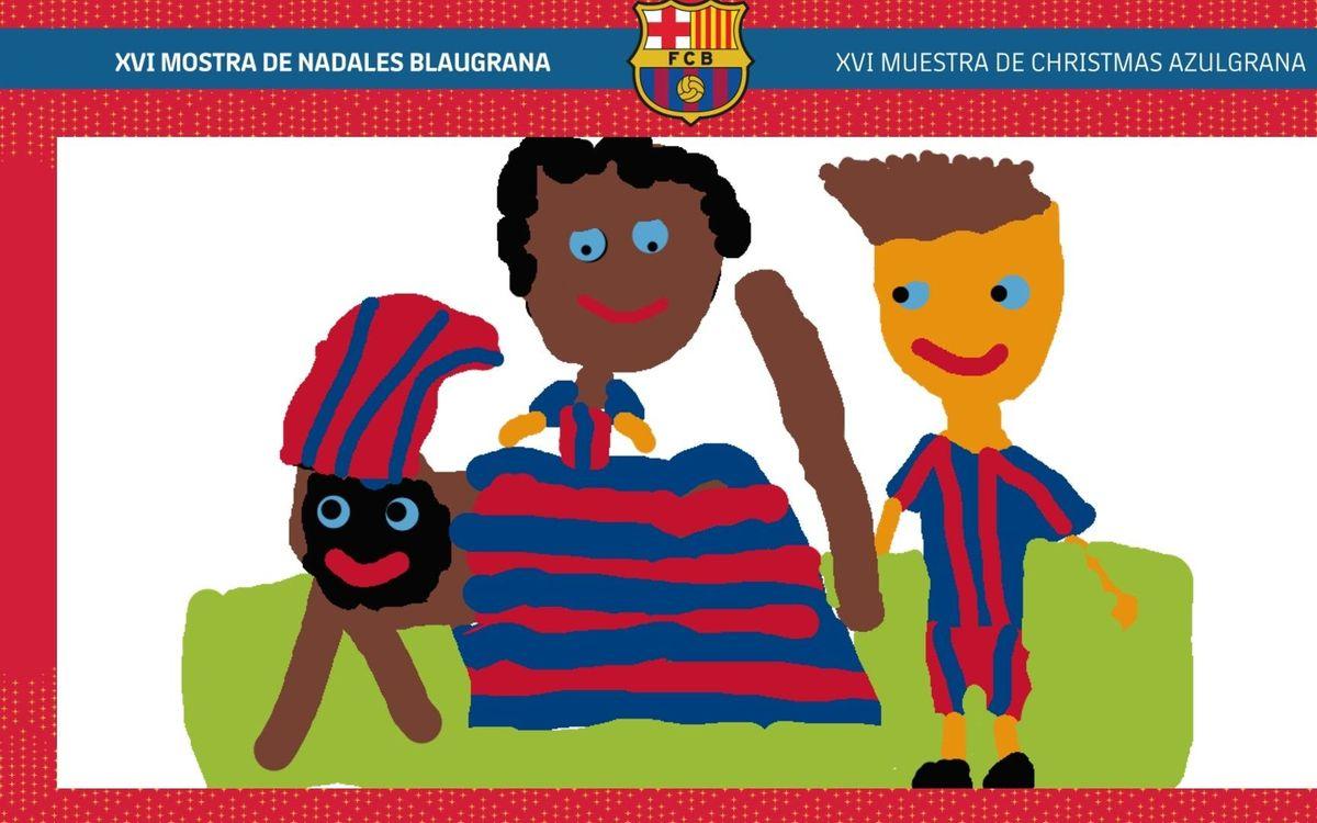 XVI Blaugrana Christmas Festival winning drawing awarded