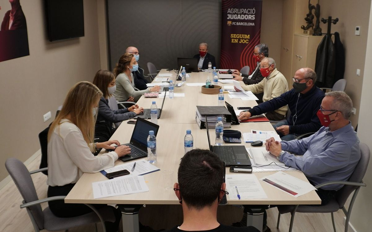 Asamblea de la Agrupación de Jugadores del FC Barcelona