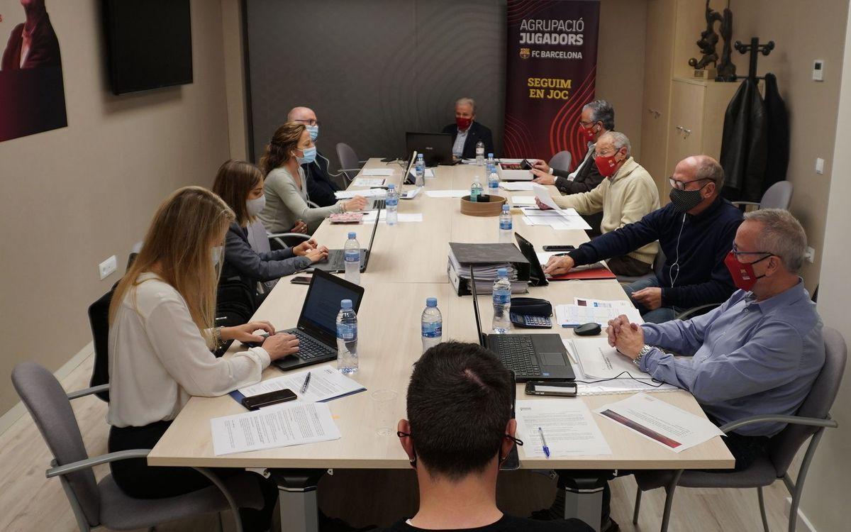 Assemblea de l'Agrupació de Jugadors del FC Barcelona