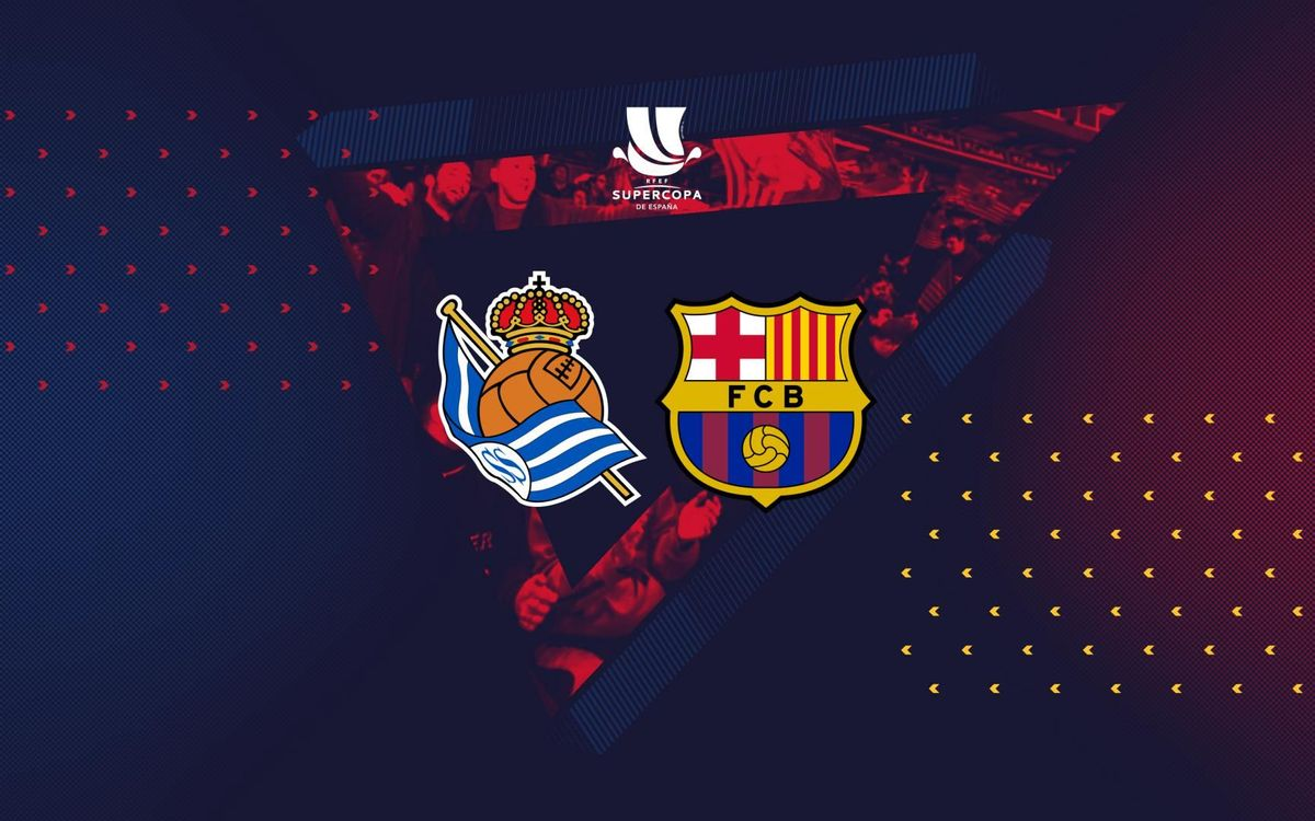 FC Barcelona to face Real Sociedad in Spanish Super Cup semi final