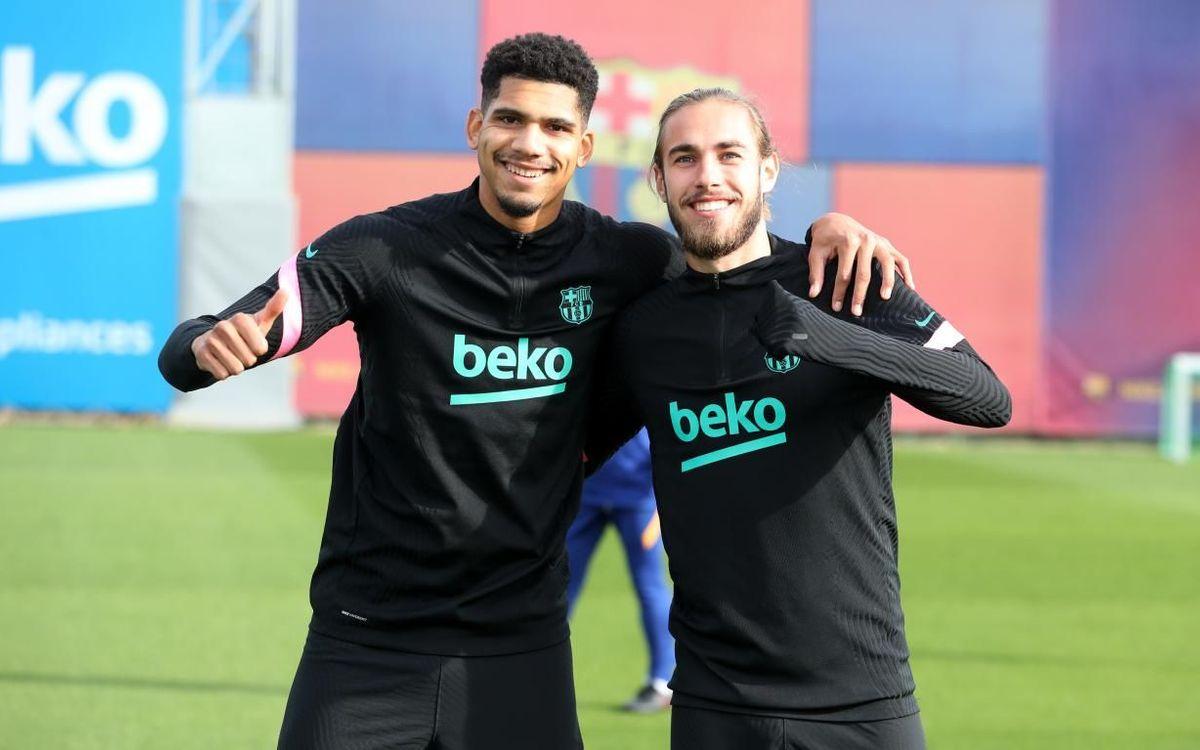 Araujo & Mingueza: strong at the back