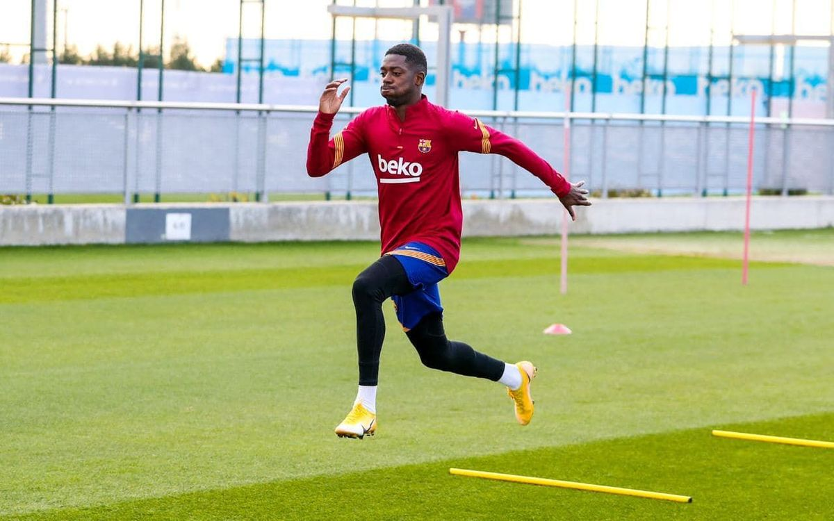 Dembélé poursuit sa rééducation