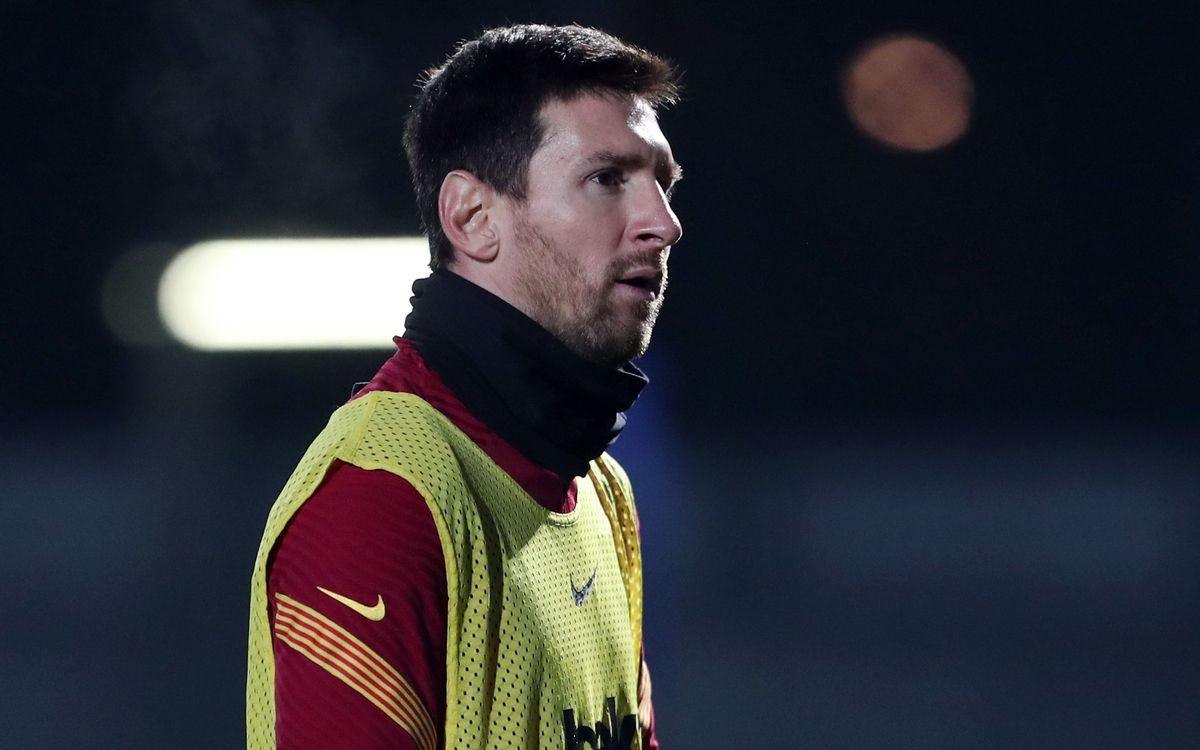 Medical communique: Leo Messi