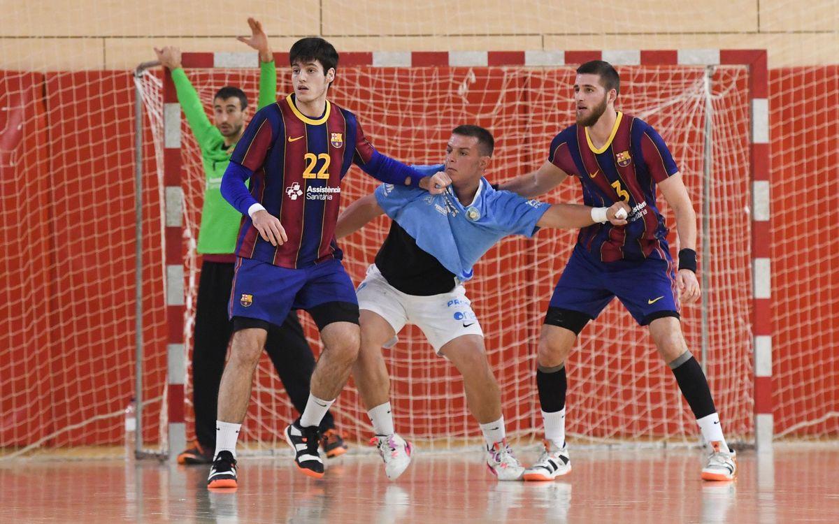 Barça B – UD Ibiza HC Eivissa (38-22): Despiden el año líderes