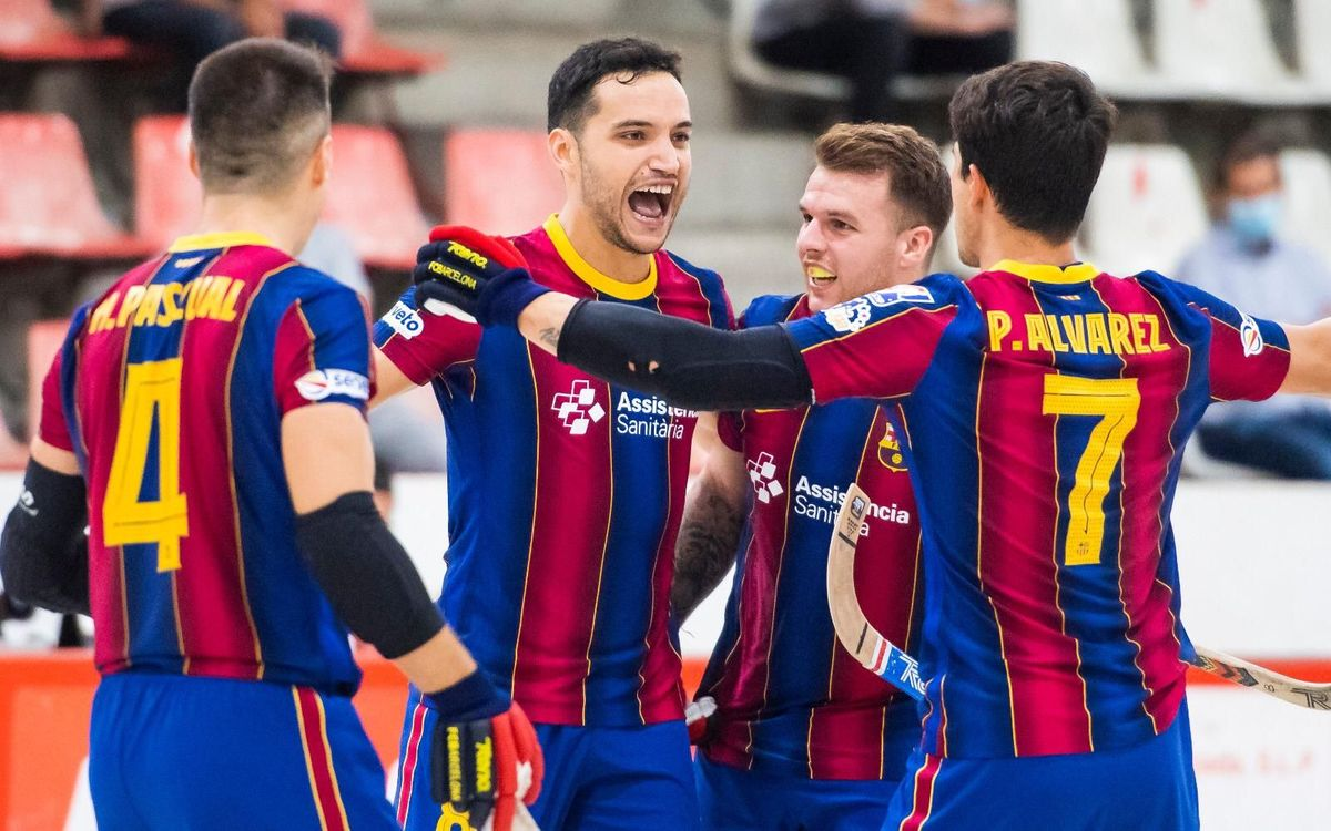 Vic 3-8 Barça: The year ends with another win