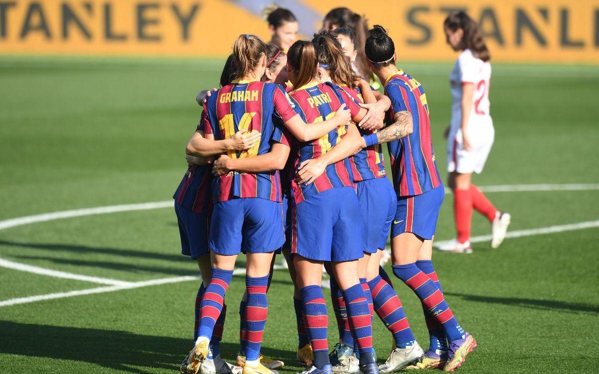 FC Barcelona Women 6-0 Sevilla FC: Ending 2020 in style