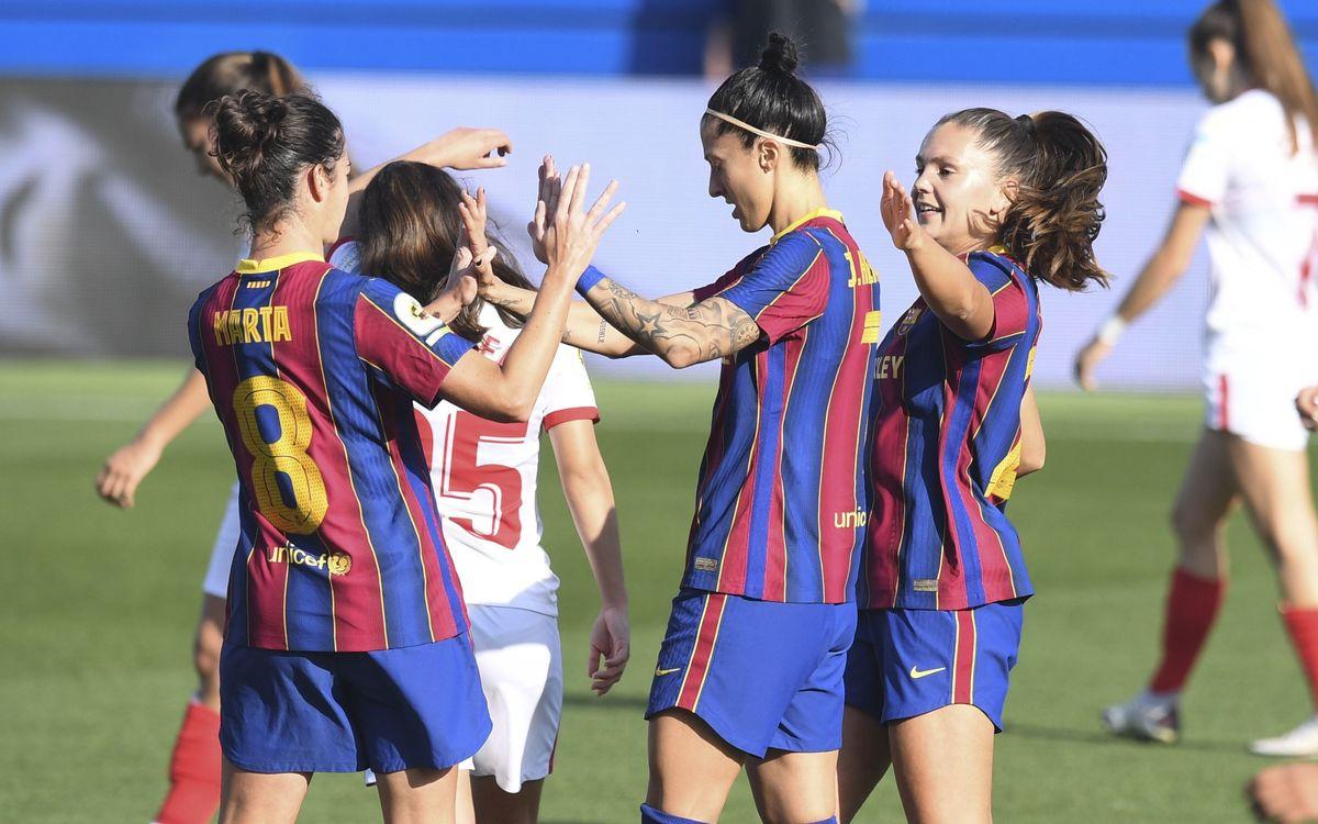 FC Barcelona Women v Espanyol at Camp Nou, live and free on Barça TV+