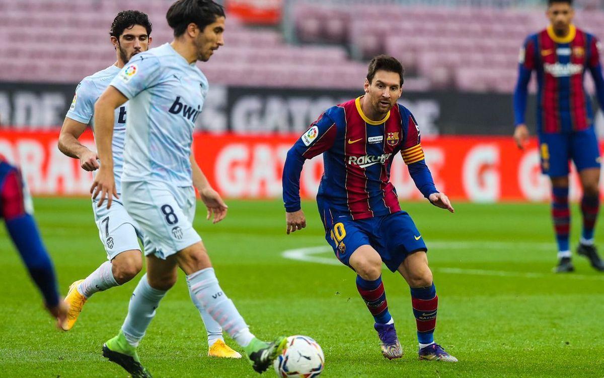 Barça - Valence : Un point c'est tout (2-2)