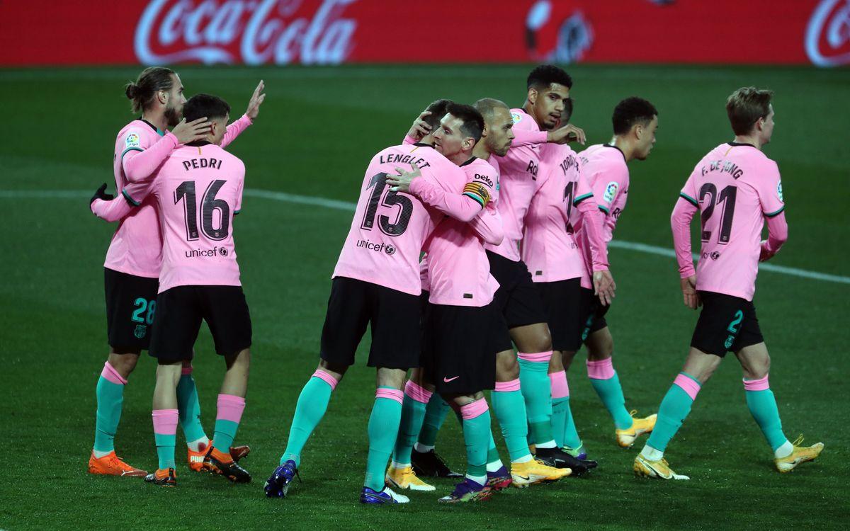 Valladolid - Barça : Noël avec le sourire (0-3)