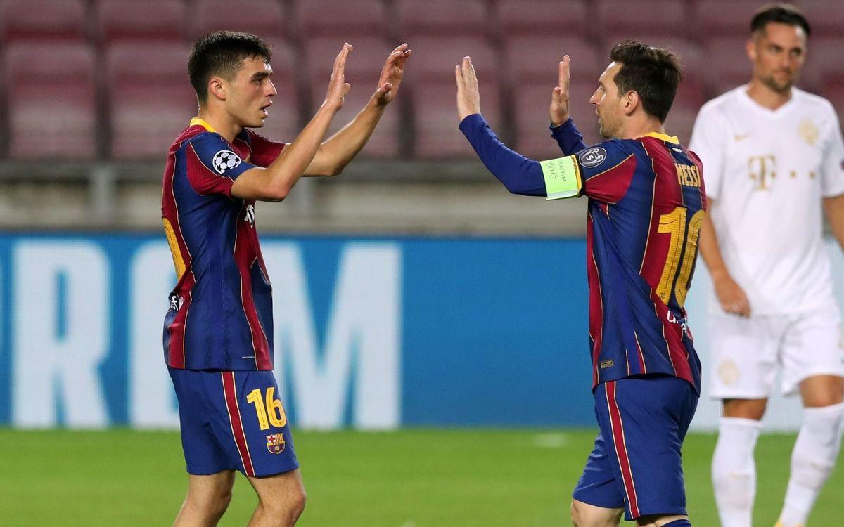 Messi et Pedri