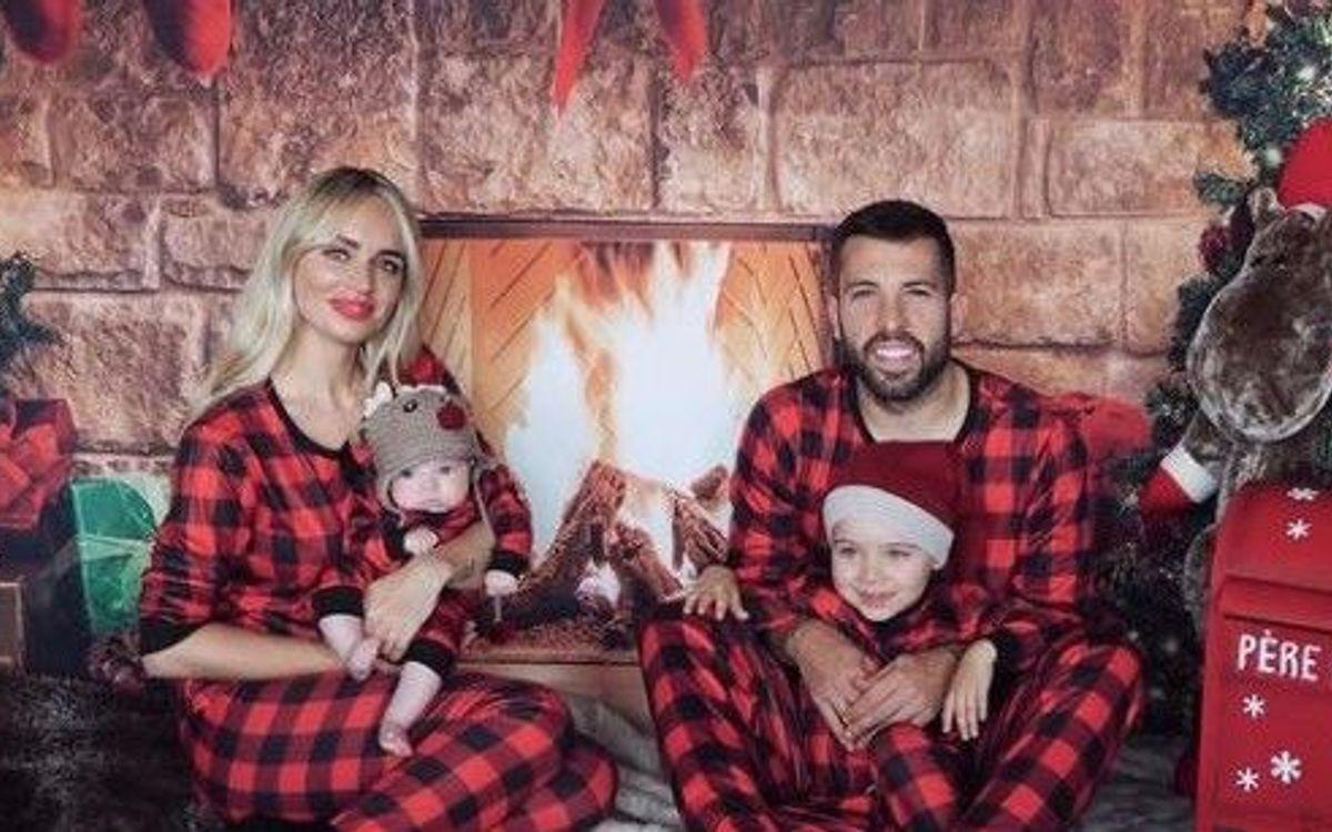 Les joueurs du Barça passent les fêtes en famille