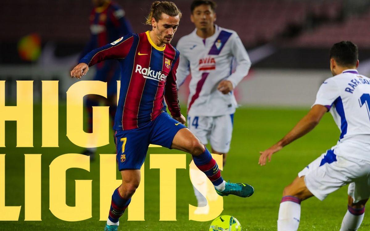 Les moments forts de Barça - Eibar (1-1)