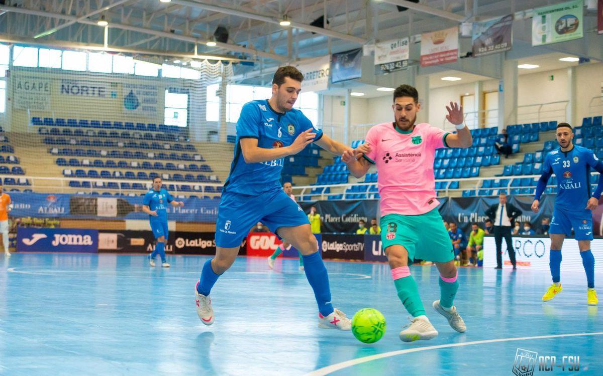 Valdepeñas - Barça: Un empate para finalizar el 2020 (2-2)