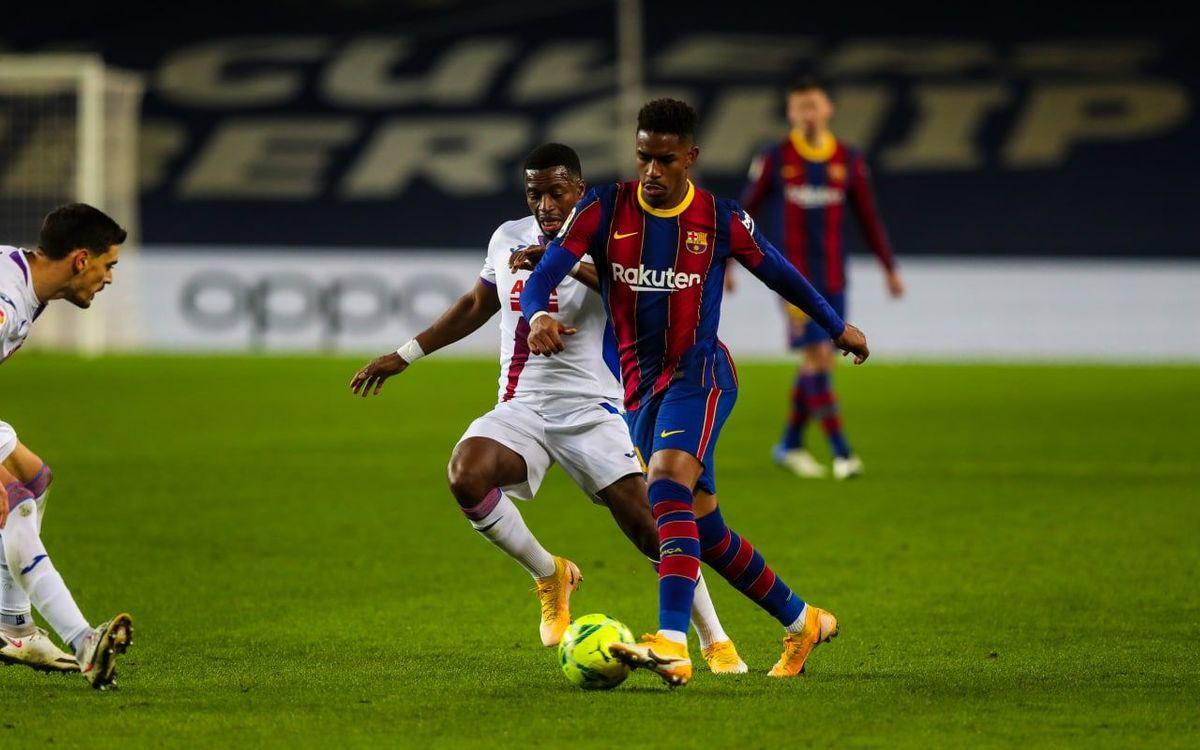 FC バルセロナ – エイバル: ほろ苦い勝ち点1 (1-1)