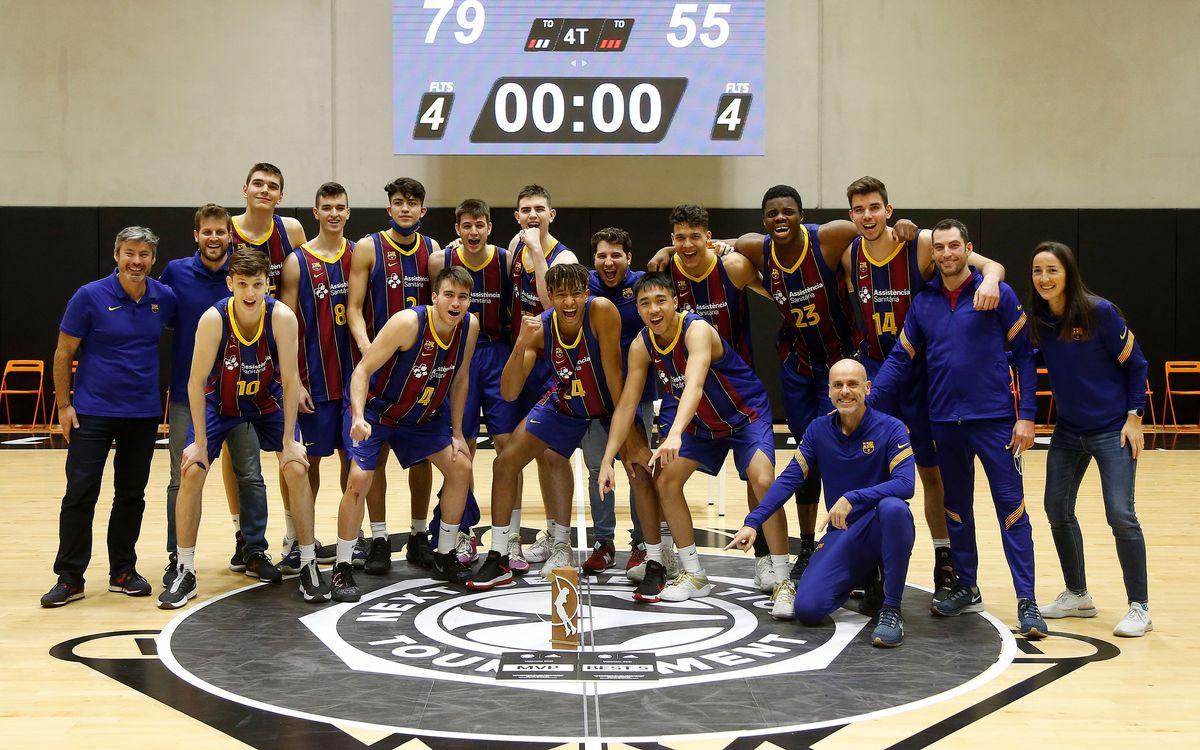 El junior del Barça, campeón del Next Generation Tournament de la Euroliga