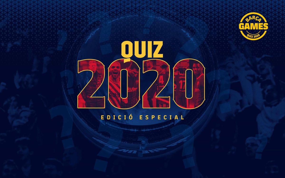 Quant saps d'aquest 2020 en clau blaugrana?