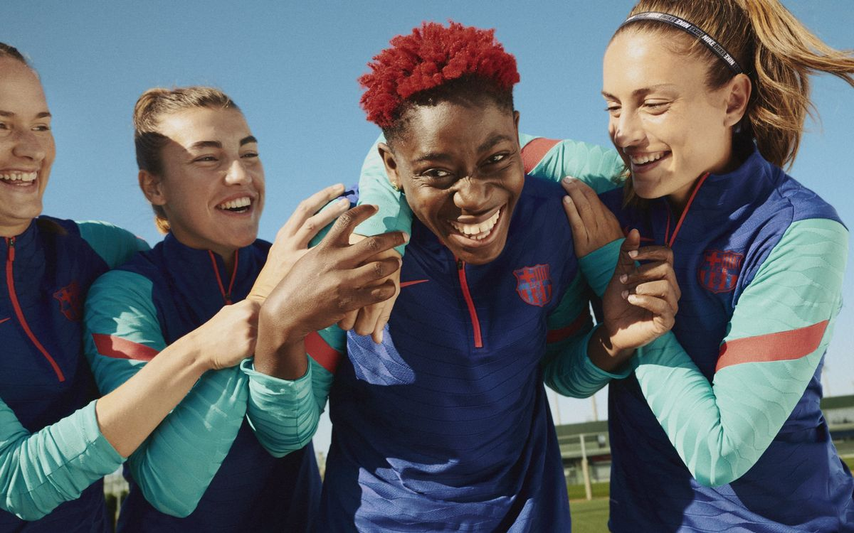 FC Barcelona launches new training kit featuring the very latest technology