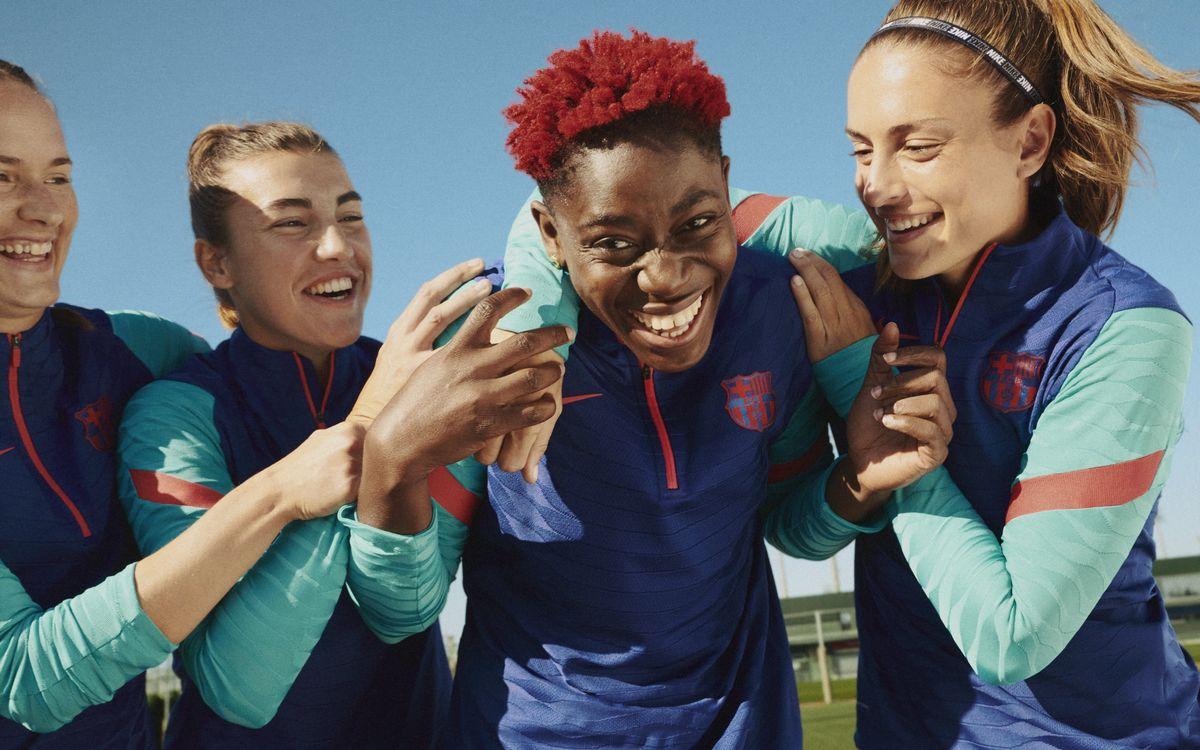 El FC Barcelona lanza su nueva equipación de entrenamiento que integra la tecnología más avanzada